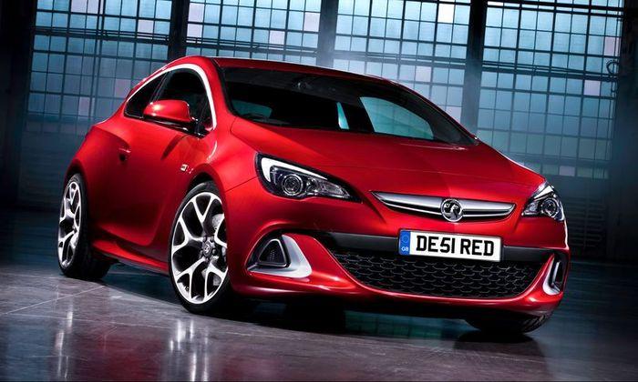 Фотографии новой Opel Astra OPC (15 фото)