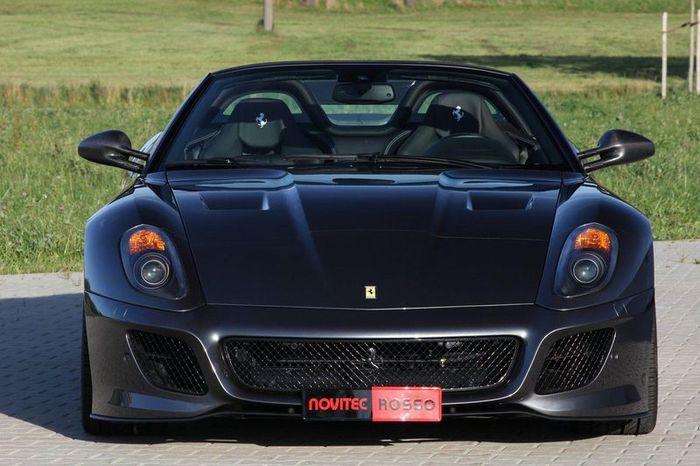 Редкий Ferrari SA Aperta затюнили в ателье Novitec Rosso (15 фото)