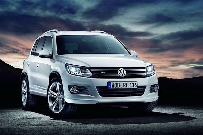 Volkswagen Tiguan получит опциональный пакет R-Line (4 фото)