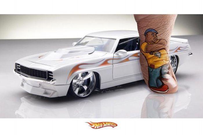 Рекламная война миниатюрного автопрома между matchbox и hotwheel (65 фото)