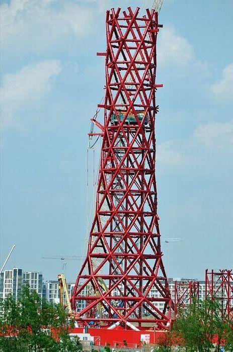 ArcelorMittal Orbit построили в Лондоне (17 фото)