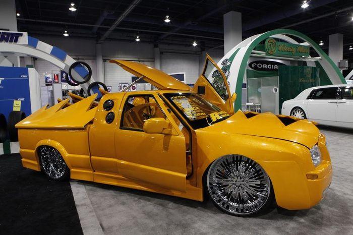 Автомобили-участники автошоу SEMA Motor Show 2011. Часть 2 (139 фото)