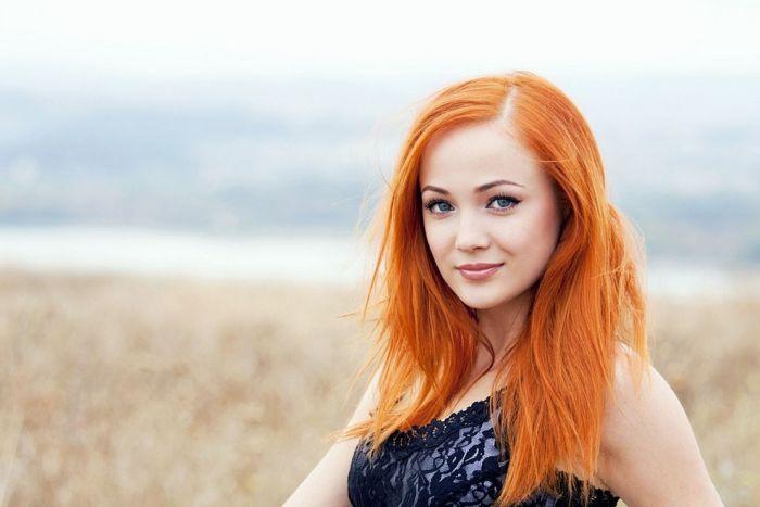 красивые рыжие девушки картинки любимая