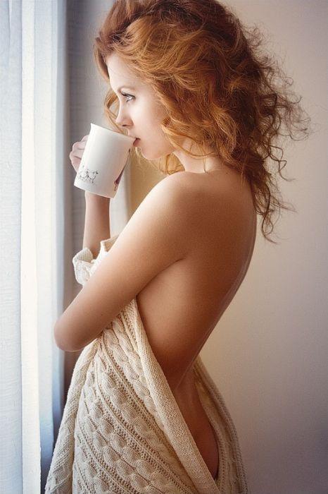 Милые девушки с огненно-рыжими волосами (104 фото)