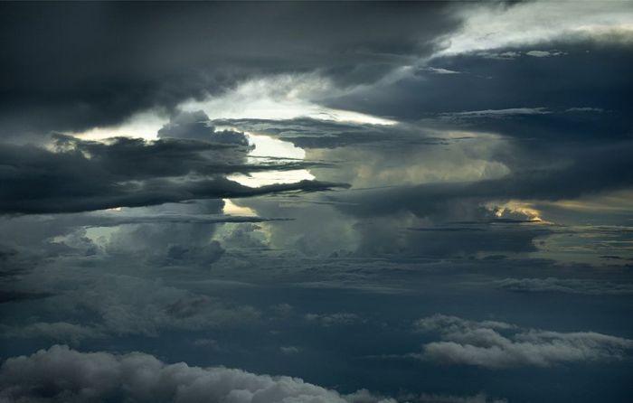 Шикарные фотографии облаков (15 фото)