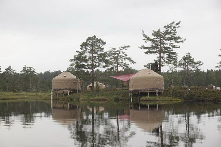 Отель-юрта в Норвегии (20 фото)