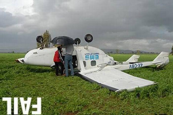 Фэйловые посадки (23 фото)