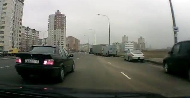 Водителя наказали по видео с регистратора (видео)