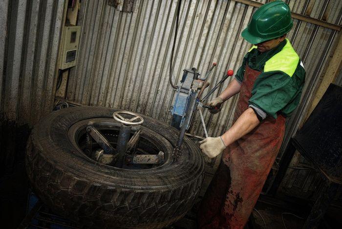 Завод по утилизации и переработке автомобильных шин (15 фото)