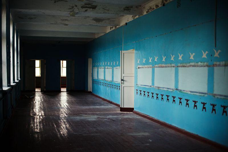 1363 Заброшенная школа на Кольском полуострове