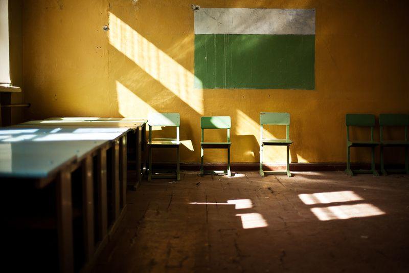 2629 Заброшенная школа на Кольском полуострове