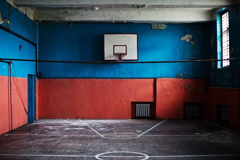 3621 Заброшенная школа на Кольском полуострове