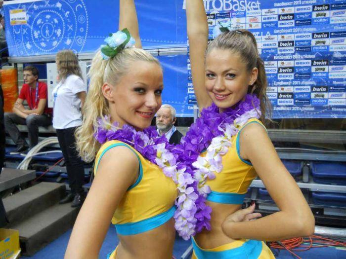 Выступления черлидеров из Украины (78 фото)