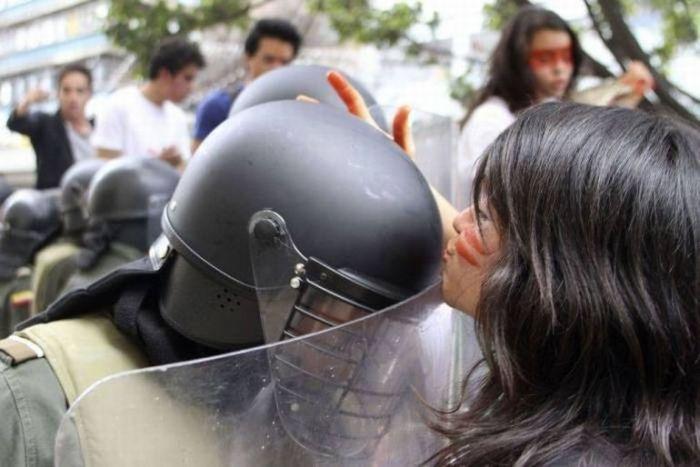Студенческие протесты в Колумбии (15 фото)
