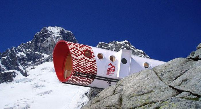 Дом для альпинистов LEAP (12 фото)