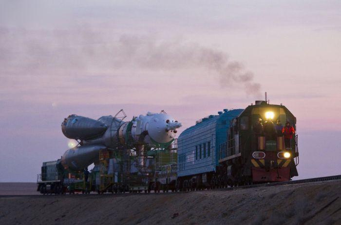 Запуск корабля Союз ТМА-22 (17 фото)