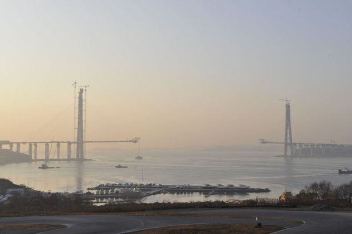 Мост на остров Русский во Владивостоке (44 фото)