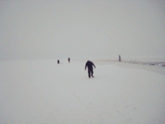 Мировой рекорд по прорыву льда на Северном полюсе (20 фото)