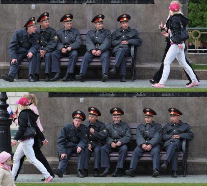 Мужики пялятся на женские прелести (43 фото + 1 гифка)