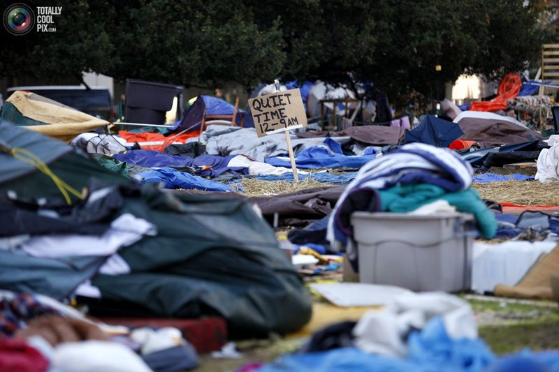occupy 0 Разгон «Оккупантов Уолл стрит»