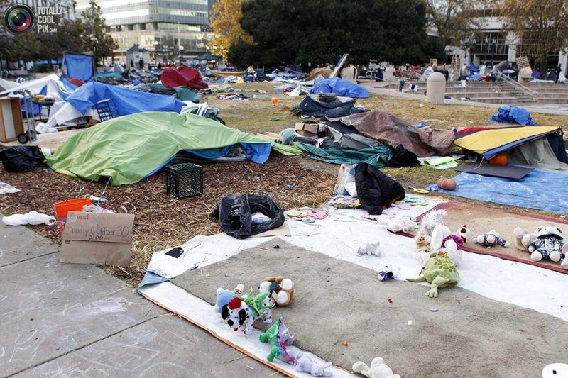 occupy 1 Разгон «Оккупантов Уолл стрит»