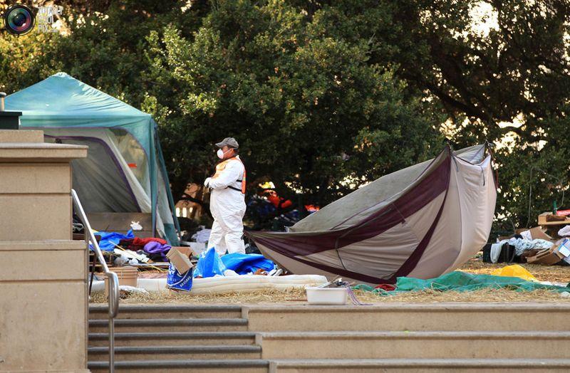occupy 6 Разгон «Оккупантов Уолл стрит»