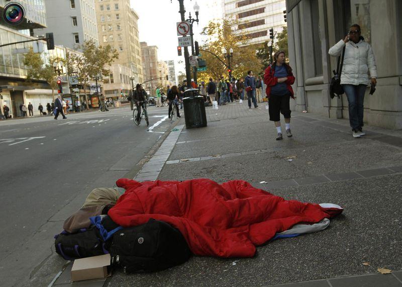 occupy 7 Разгон «Оккупантов Уолл стрит»
