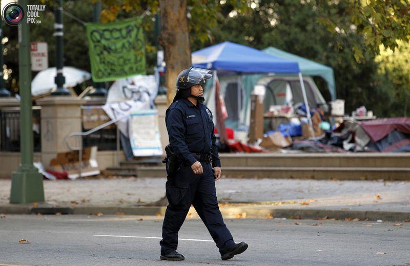 occupy 8 Разгон «Оккупантов Уолл стрит»