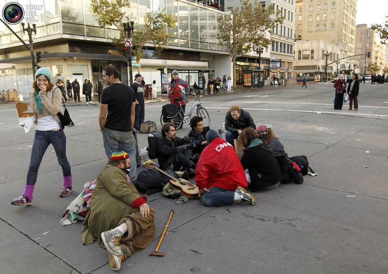 occupy 9 Разгон «Оккупантов Уолл стрит»