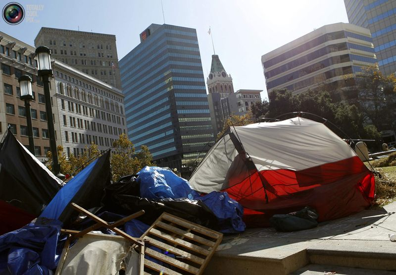 occupy D Разгон «Оккупантов Уолл стрит»