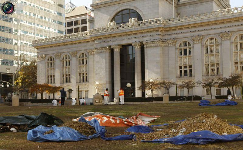 occupy H Разгон «Оккупантов Уолл стрит»