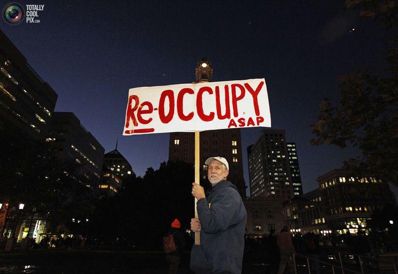 occupy J Разгон «Оккупантов Уолл стрит»