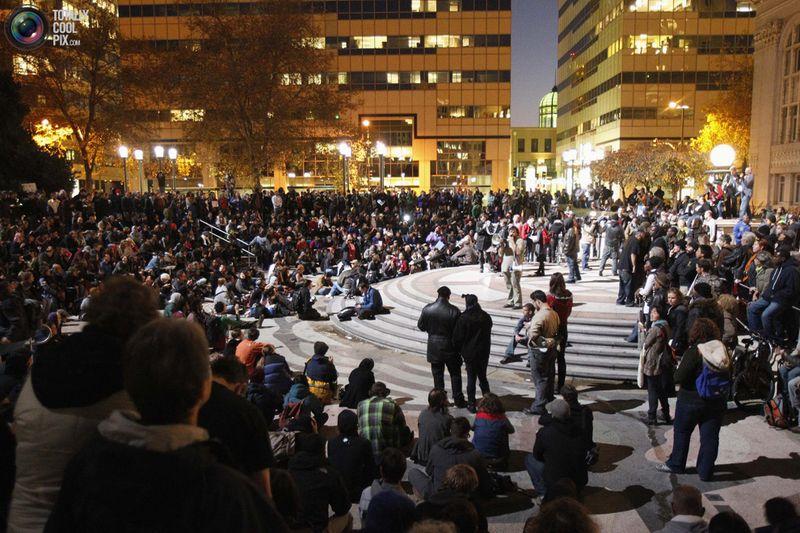 occupy L Разгон «Оккупантов Уолл стрит»