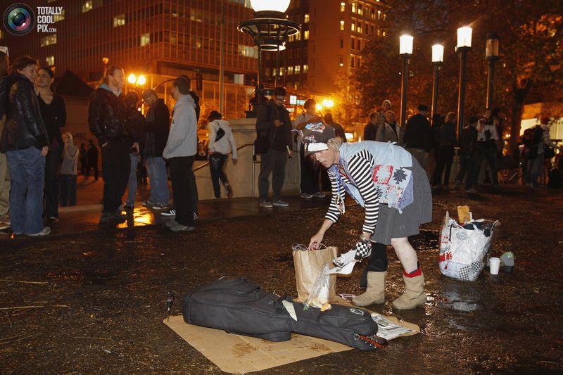 occupy M Разгон «Оккупантов Уолл стрит»