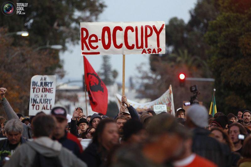 occupy N Разгон «Оккупантов Уолл стрит»
