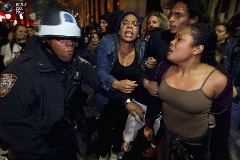 occupy P Разгон «Оккупантов Уолл стрит»