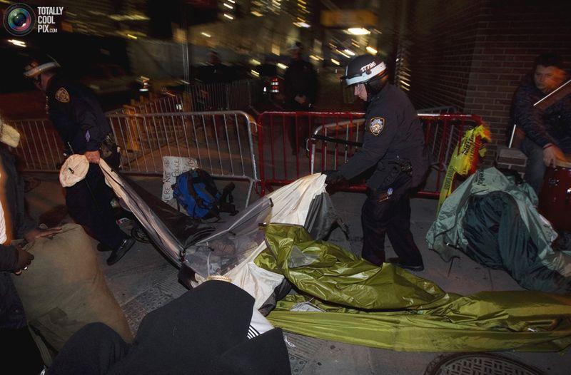 occupy Q Разгон «Оккупантов Уолл стрит»