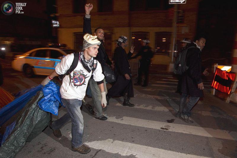 occupy U Разгон «Оккупантов Уолл стрит»