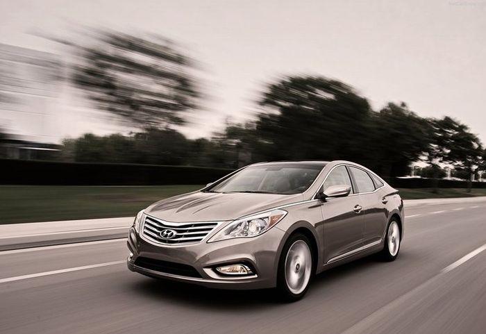 Новый Hyundai Azera презентовали в Лос-Анджелесе (28 фото)