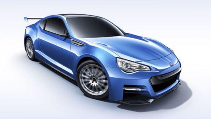 В Лос-Анджелесе покажут концепт Subaru BRZ STi (8 фото)
