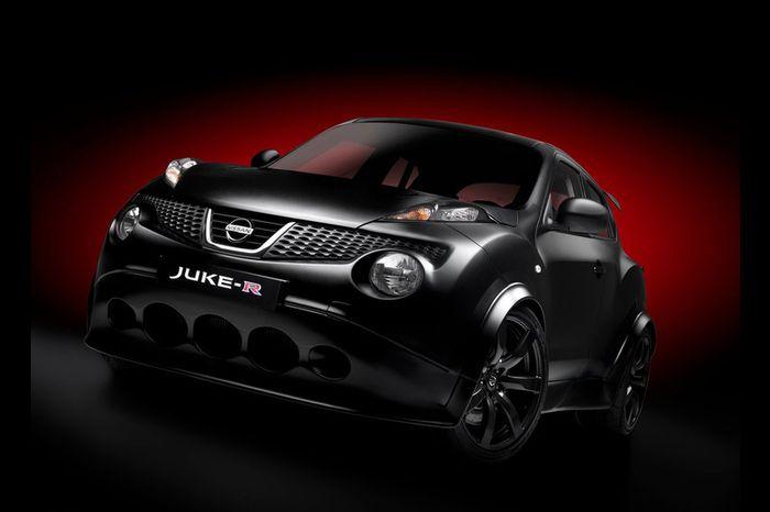 Новые фотографии особо мощного Nissan Juke-R (9 фото)