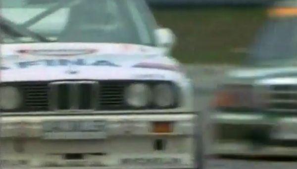 Противостояние BMW E30  и Mercedes-Benz 190 E (видео)