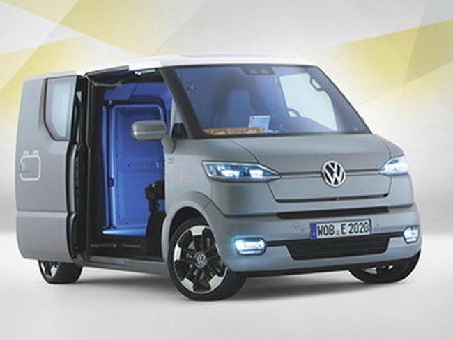 Volkswagen разработал коммерческий фургон будущего (3 фото)