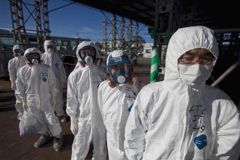 Визит на атомную станцию «Фукусима» в Японии (67 фотографий), photo:67