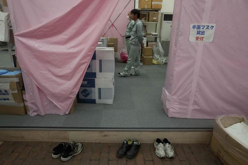 Визит на атомную станцию «Фукусима» в Японии (67 фотографий), photo:7