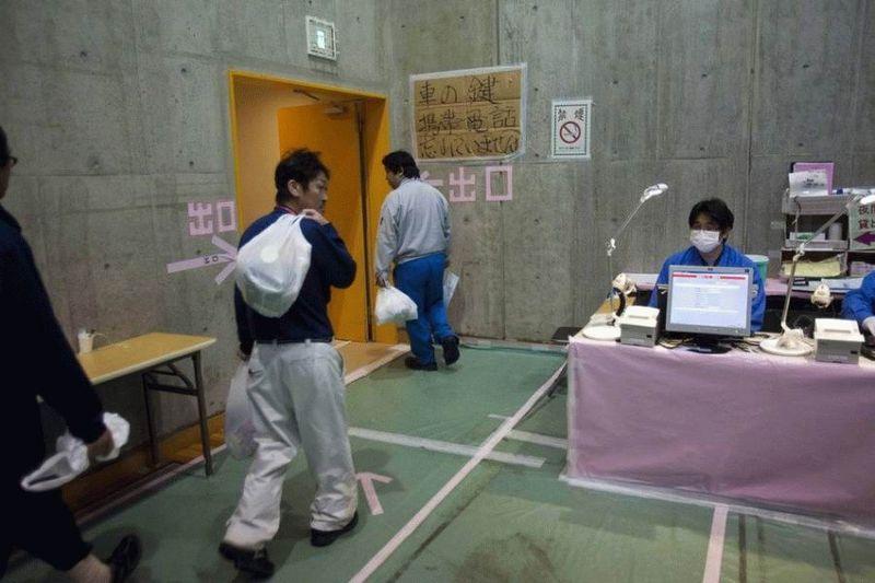 Визит на атомную станцию «Фукусима» в Японии (67 фотографий), photo:20