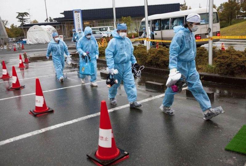 Визит на атомную станцию «Фукусима» в Японии (67 фотографий), photo:23