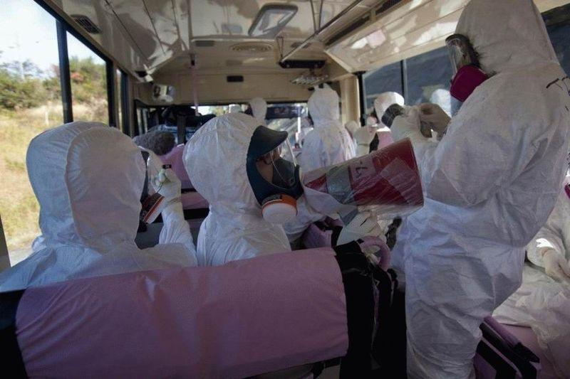 Визит на атомную станцию «Фукусима» в Японии (67 фотографий), photo:38