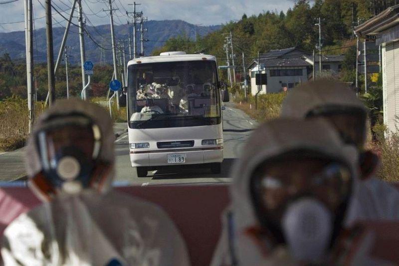 Визит на атомную станцию «Фукусима» в Японии (67 фотографий), photo:39