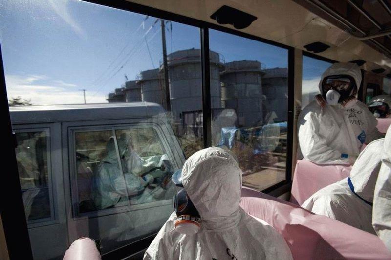Визит на атомную станцию «Фукусима» в Японии (67 фотографий), photo:42
